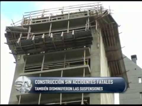 CONSTRUCCIÓN SIN ACCIDENTES FATALES  TAMBIÉN DISMINUYERON LAS SUSPENSIONES