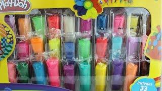 getlinkyoutube.com-Plastilina Play Doh Caja de Muchos Colores-Play-Doh Rainbow Colors Mundo de Juguetes