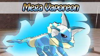 getlinkyoutube.com-Water/Normal Mega Vaporeon - Pokemon ORAS