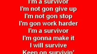 getlinkyoutube.com-Survivor - Destiny's Child with Lyrics