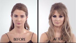getlinkyoutube.com-The Bardot Make-up Tutorial - featuring Millie Mackintosh - 60s cat eye - Charlotte Tilbury