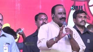 Telangana Home Minister Nayani Narasimha Reddy