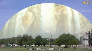 getlinkyoutube.com-Cómo se vería el planeta Júpiter desde alguna de sus lunas