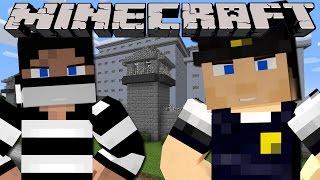 getlinkyoutube.com-Minecraft - PRISON BREAK - WORKING IN SHARKY'S PRISON!