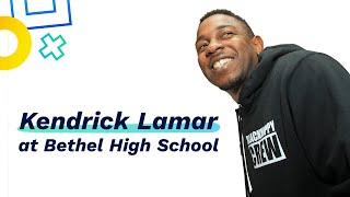 getlinkyoutube.com-Kendrick Lamar Flows With Students at Bethel High School