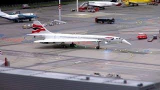 Miniatur Wunderland Hamburg / Model-Airport 2013