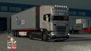 getlinkyoutube.com-[ETS2 v1.23] Scania R & Streamline Modifications V1.5.1 + Cabin DLC