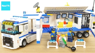 getlinkyoutube.com-レゴ シティ ポリスベーストラック 60044 /LEGO CITY, LEGO City Police 60044 Mobile Police Unit