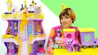 getlinkyoutube.com-#ЛитлПони и Маша - игры Эквестрия! Мультик из игрушек: СЕЛЕСТИЯ и замок принцессы.