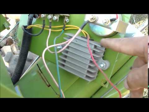 ЗУБР Q79E Электрика на мотоблоке часть 2