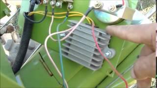 getlinkyoutube.com-ЗУБР Q79E Электрика на мотоблоке часть 2
