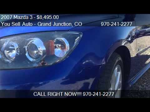 2007 Mazda 3 GRAND TOURING SUNROOF - for sale in Grand Junct