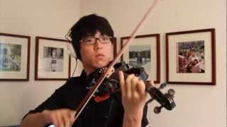 Canon Rock violin Cover - Jung sung ahn