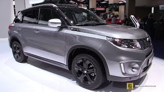 getlinkyoutube.com-2016 Suzuki Vitara S All Grip - Exterior and Interior Walkaround - 2015 Frankfurt Motor Show