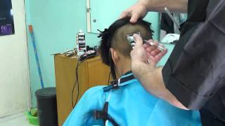 getlinkyoutube.com-Undershaved bobcut woman