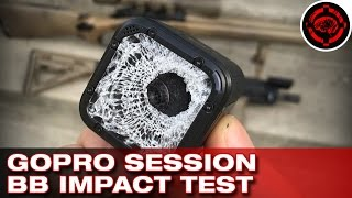 getlinkyoutube.com-GoPro Session VS Airsoft BBs (Durability Test)