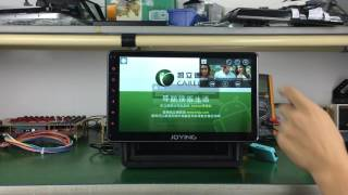 """Joying 8"""" 10.1"""" single 1 din new android head unit system car GPS navigation review"""