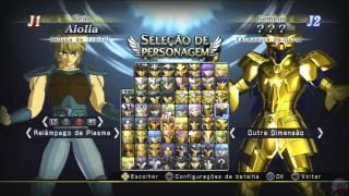 CDZ BRAVOS SOLDADOS DLC MOSTRANDO TODOS 50 CAVALEIROS, DEUSES JOGAVÉIS, ROUPAS E ARMADURAS OCE MANGÁ