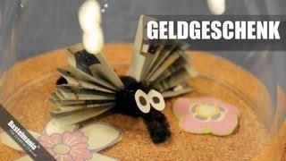 getlinkyoutube.com-Geldgeschenk / Gift Of Money / Geschenkidee / Gift Idea / Mücken