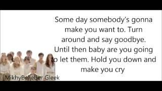 getlinkyoutube.com-GLEE- Hold on (Lyrics)