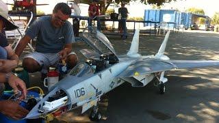 getlinkyoutube.com-RC turbine jet F14 Scale Large