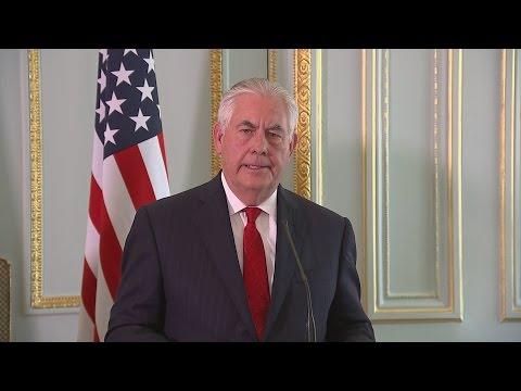 Tillerson: We take full responsibility for leaks