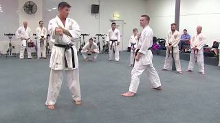 getlinkyoutube.com-KUMITE DRILLS:  Footwork and Fitness