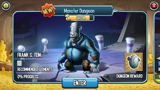 getlinkyoutube.com-Get Free Monster Frank S. Tein from the Monster Dungeon 5 Days on Monster Legends