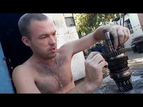 РЕМОНТ КОРОБКИ f-16 НЕ СНИМАЯ С АВТОМОБИЛЯ Opel,Lanos,Nubira...