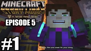 getlinkyoutube.com-Minecraft Story Mode Episode 5 - Gameplay Walkthrough Part 1 - No Commentary