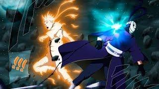 getlinkyoutube.com-[AMV] - Naruto, Kakashi, Killer Bee and Gai VS Tobi