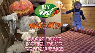 getlinkyoutube.com-VLOG HALLOWEEN • ROOM TOUR, HÔTEL TOUR, RESTAU TOUR au PARC ASTERIX - Studio Bubble Tea unboxing