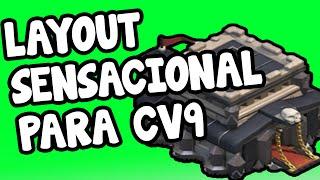getlinkyoutube.com-LAYOUT SENSACIONAL DE FARMING PARA CV9 (COM 4 MORTEIROS) - Clash Of Clans
