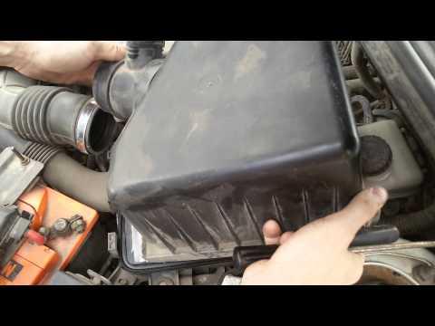 Как поменять воздушный фильтр у Чери Фора