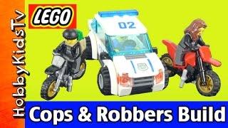 getlinkyoutube.com-LEGO City Police 60042 High Speed Police Chase Build by HobbyKidsTV