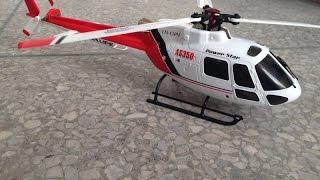 getlinkyoutube.com-WLtoys V931 Triple-Blade 6-Channel Brushless AS350 Squirrel Helicopter