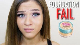 getlinkyoutube.com-Foundation FAIL! Rimmel Fresher Skin Foundation Review & First Impressions