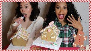 getlinkyoutube.com-Ginger Bread House CHALLENGE