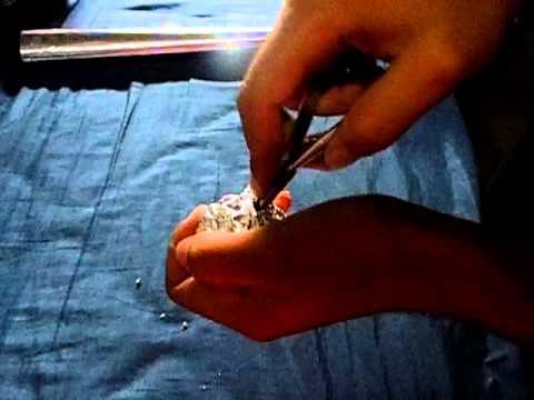 como amolar meu alicate de unha com papel aluminio