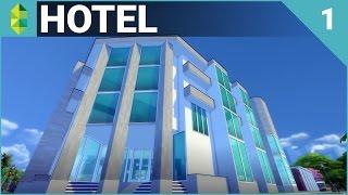 getlinkyoutube.com-The Sims 4 Building - Hotel (Part 1)