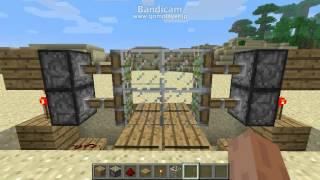 getlinkyoutube.com-Minecraft 自動ドアの作り方