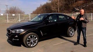 New BMW X6 дизель 249 л.с. - тест-драйв Александра Михельсона