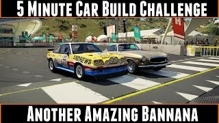 5 Minute Car Build Challenge Another Amazing Bannana (Forza Horizon 3)