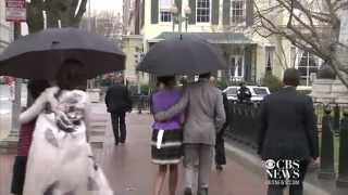 getlinkyoutube.com-Obama family goes to church on Easter Sunday