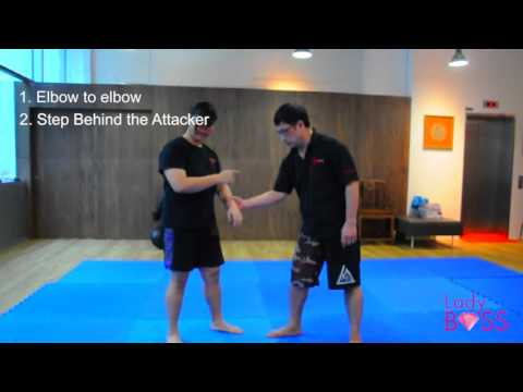 Self Defense For Ladies   How to Get Out When a Man Grabs Yo