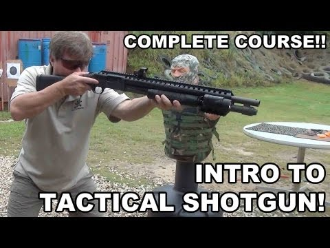 Intro to Tactical Shotgun!  Complete Course from Raidon Tactics