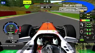 getlinkyoutube.com-rF1-Simracing.eu - OnBoard Belgian Grand Prix