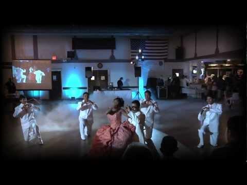 QUINCEANERA VALS EL MEJOR DEL 2012 MUY BONITO EN CALIFORNIA POR HOLLYWOOD TV