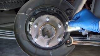 Rear Brake Replacement on Nissan Xterra