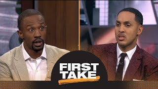 Ryan Hollins: Rookie of the Year Ben Simmons is 'overrated' | First Take | ESPN